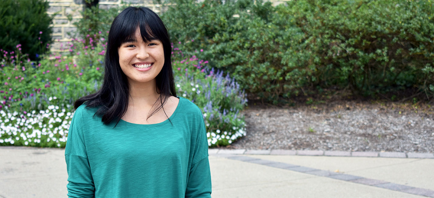Schreyer Scholar Stephanie Latona